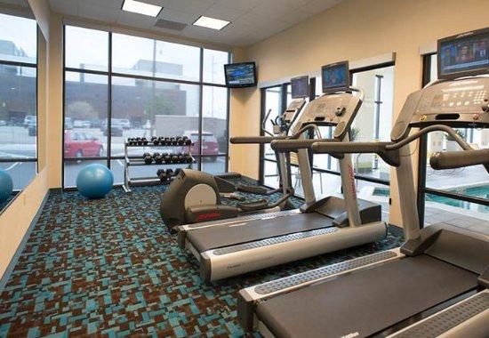 Fairfield Inn & Suites Tulsa Downtown: Health club