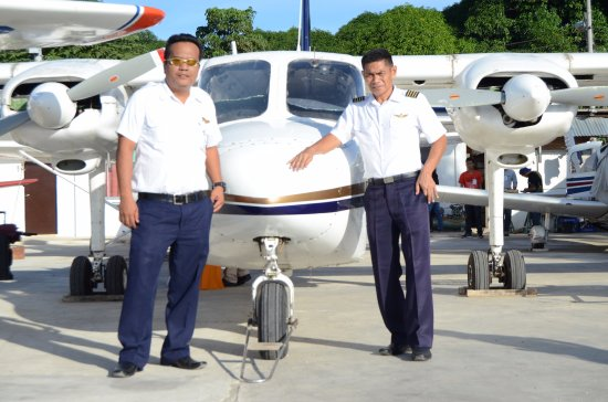 Britten Norman Islander and the Pilots - Picture of Far East