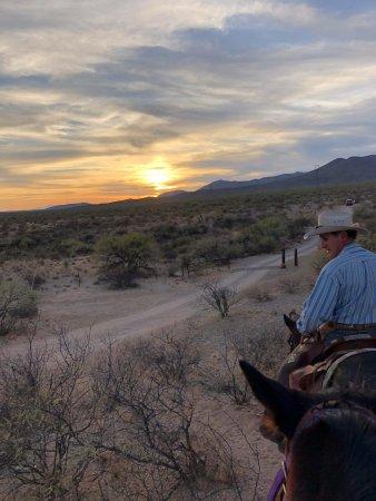 Benson, AZ: Ron taking us out for the 5 mile ride!