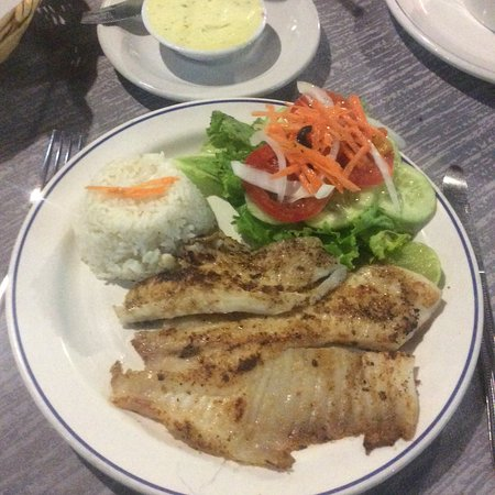 Tostado's Grill: garlic fish
