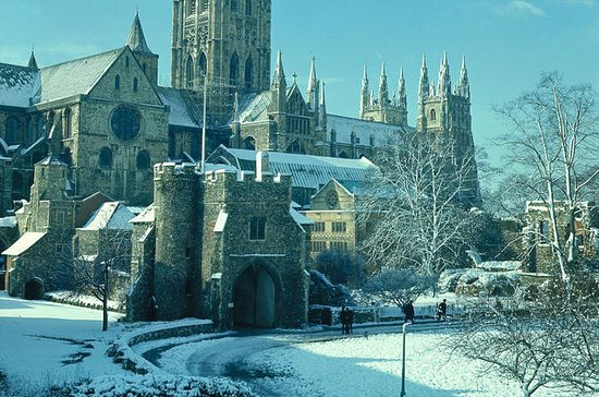 Christmas Day in Canterbury, Dover ...