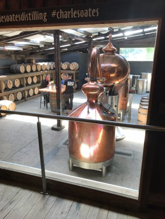 Grove, Australia: The distillery.