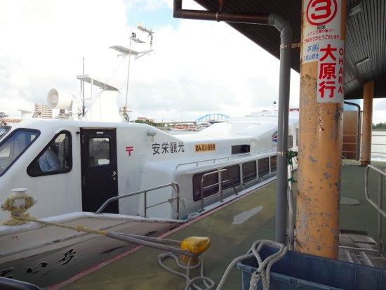 Okinawa Prefecture, Japan: 安栄観光の船