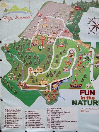 Maps Picture Of Dago Dreampark Lembang Tripadvisor