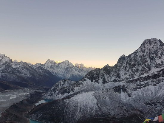 Kathmandu Valley, Nepal: Another view from Gokyo Ri