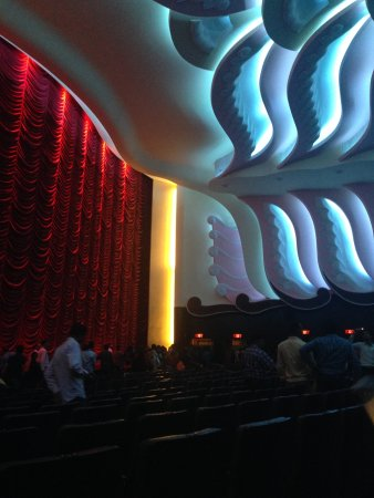 Raj Mandir Cinema: Inside the film theatre room