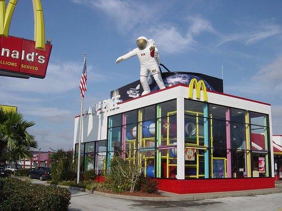 Webster, TX: NASA旁太空人麥當勞