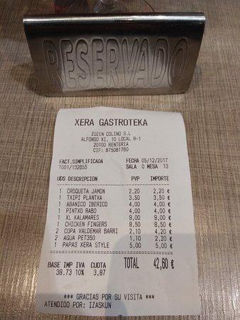 Restaurante xera gastroteka en errenteria con cocina otras - Tiempo en errenteria ...
