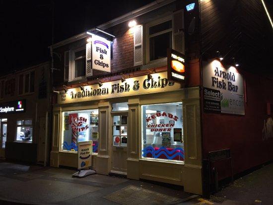 Arnold fish bar restaurant avis num ro de t l phone for Louisiana fish bar