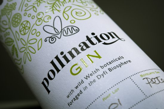 Machynlleth, UK: Award winning artisan Gin is made in the neighbouring Dyfi Distillery at the Corris Craft Centre