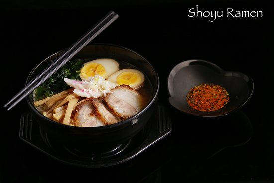 Shoyu Ramen Japanese Soy Sauce Base Picture Of Hana Yakiniku