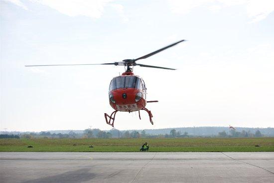 Schonefeld, Alemania: Ready to land