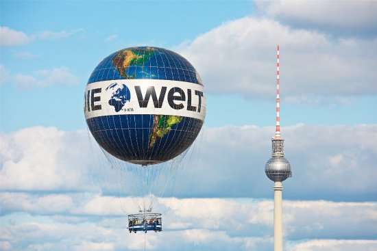 Air Service Berlin - Weltballon