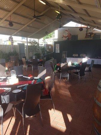 Maitland, Australia: Xmas Show Beer Garden