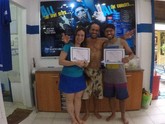 Nosso Certificado De Batismo Com O Hugo Picture Of The Adventure