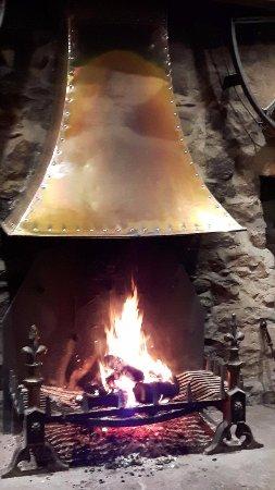 Kettlewell, UK: The roaring fire
