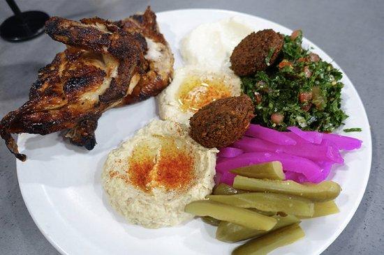 Granville, Australia: Half Chicken Mix Plate ($22.90)