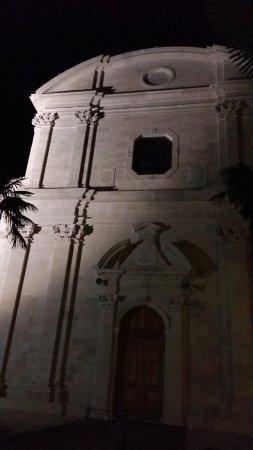 Кастель-Люкшич, Хорватия: The Catholic Cathedral, Kastel Lucsic, nightiime