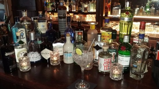 Maynooth, Irland: Our Gin collection...