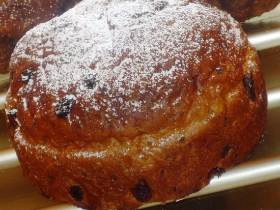 Ballycastle, UK: Pannetone Festive Loaf, a delicious fusion of multi seeds, spices, cranberries and premium fruit
