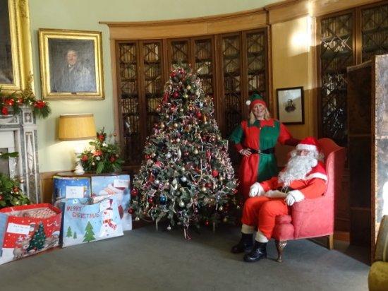 Paxton House: Santa ready to meet children