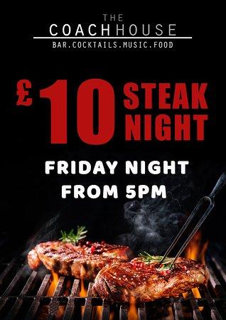Skelmersdale, UK: steak night
