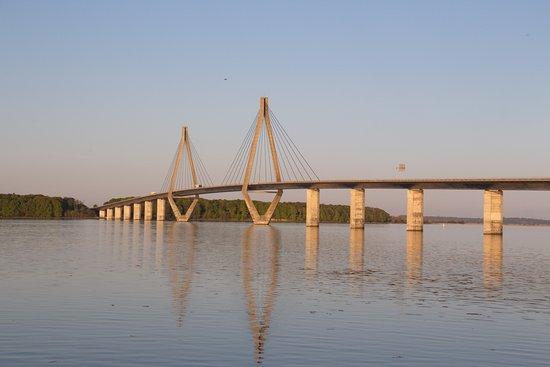Bogoe, Δανία: Questo è il fantastico ponte...