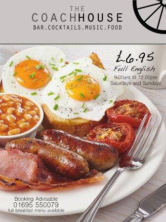 Skelmersdale, UK: Breakfast