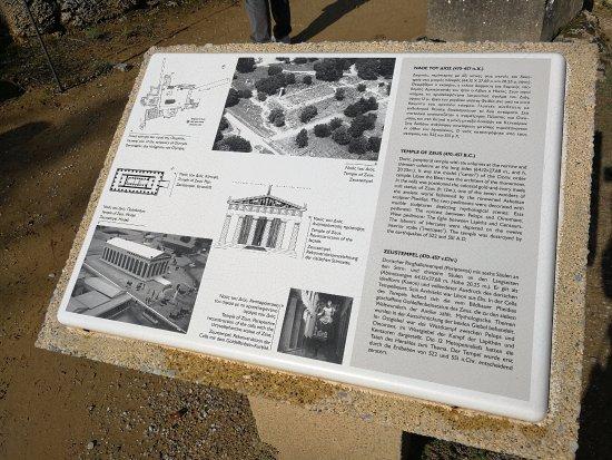 Ancient Olympia: Описание храма Зевсу.