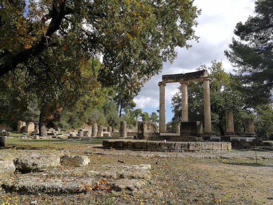 Ancient Olympia: Филлипион.