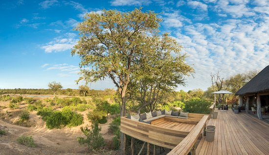 Simbambili Game Lodge: Simbambili Sunken Deck