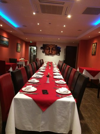 Fleet, UK: New. Decoration and chefs special menu