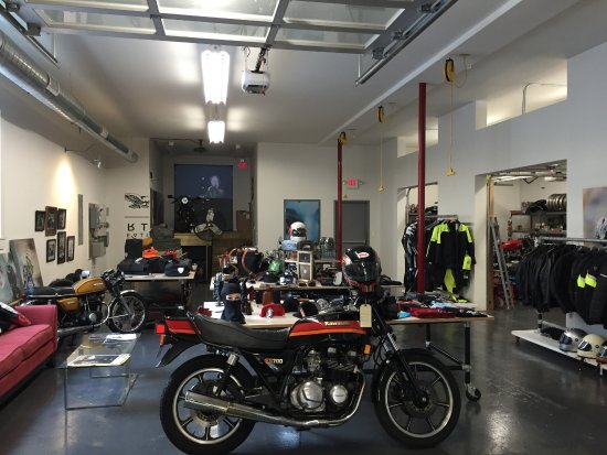Moto Coffee Machine Full Motorcycle Shop