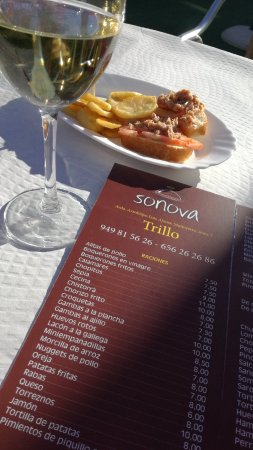 Trillo, Spanyol: Bar Sonova