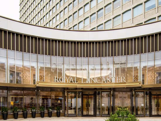 Royal Lancaster London: Hotel Facade and Entrance
