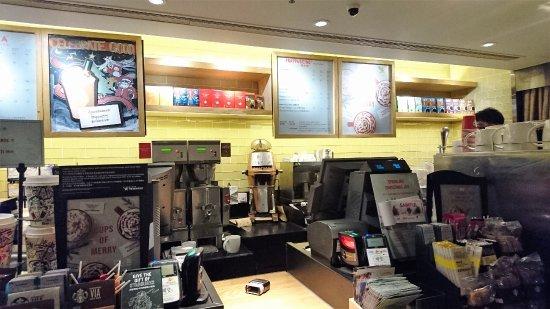 星巴克咖啡冰室環境