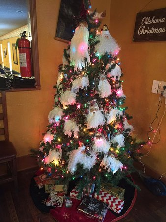 Krebs, OK: Christmas 2017