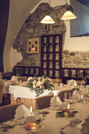 restaurant interieur bild von le jardin cesky krumlov tripadvisor. Black Bedroom Furniture Sets. Home Design Ideas