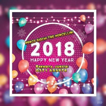 Parco Giochi Tre Porcellini: evento Happy New Year