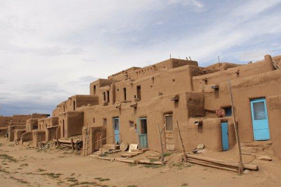 Taos Pueblo: The Main Pueblo Building