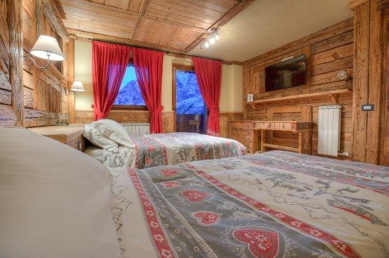 Fire place breuil cervinia for Hotel meuble mon reve