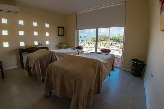 Noord, Aruba: The couple room massage at La Cabana beach resort in Aruba