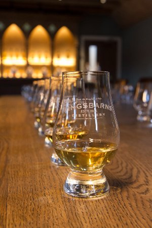 Kingsbarns Distillery Whisky Tasting