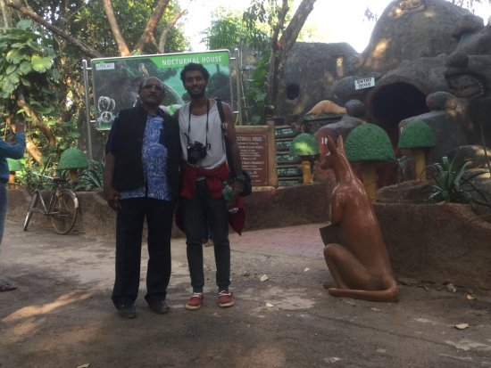 Nandankanan Zoological Park : Eliya with his father