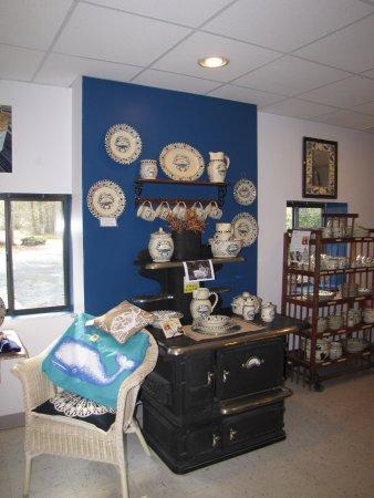 Melfa, Βιρτζίνια: Blue Crab stoneware