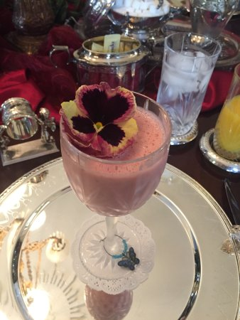 Columbus, MS: Chilled Strawberry Soup
