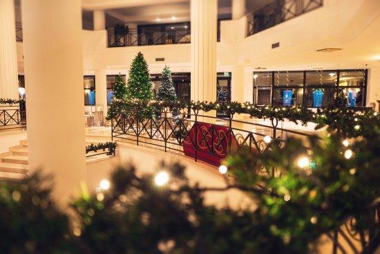 Addobbi Di Natale Immagini.Addobbi Di Natale Al Savoy Beach Hotel Picture Of Savoy