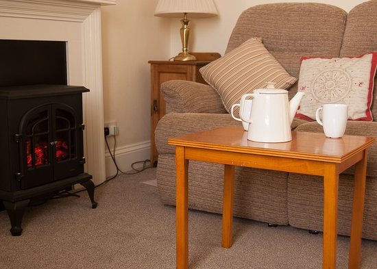 Drummore, UK: Lightkeeper's Cottage Sitting Room