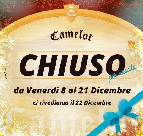 Ali Terme, İtalya: Chiusura straordinaria dall'8 al 22 Dicembre 2017 - Ci vediamo Venerdì 22 Dicembre