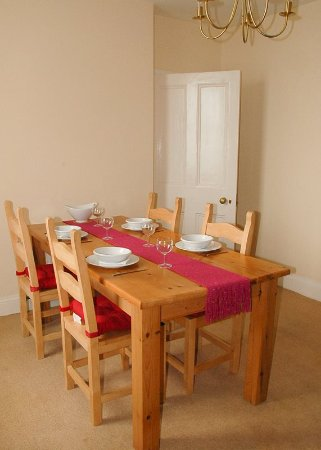 Drummore, UK: Lightkeeper's Cottage Dining Room